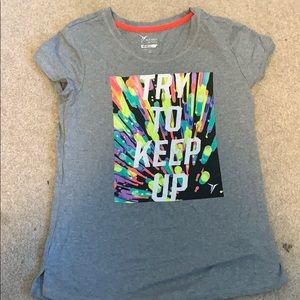 Girls try to keep up Old Navy active T-shirt